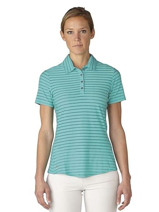 Amazon.com   adidas Golf Women s Cottonhand Stripe Polo   Sports ... d91249434