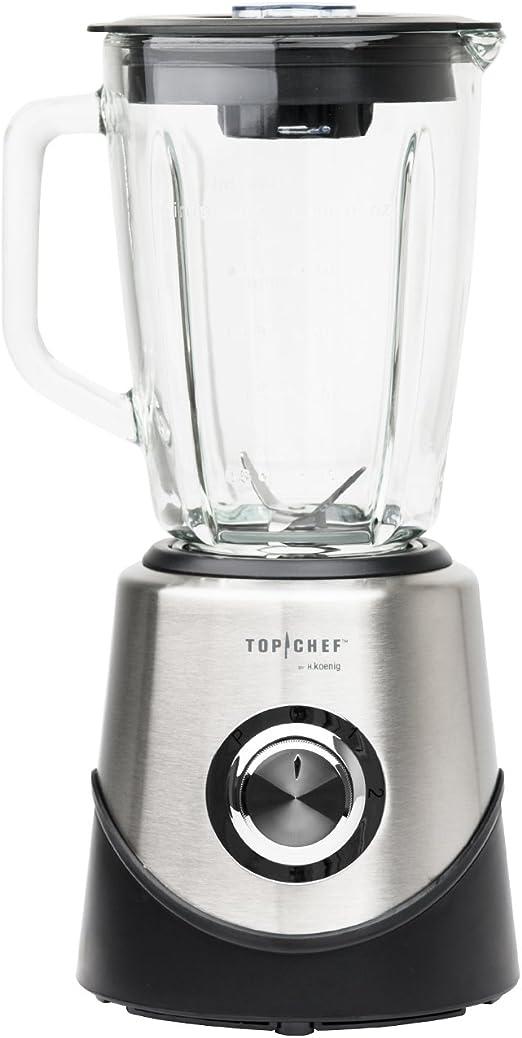 H. Koenig topc451 Top Chef batidora 1,5 L: Amazon.es: Hogar