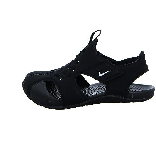 Nike Sunray Protect 2(TD) Baby Jungen fashion-sneakers 943827 Black / White EU 27 1Vk9Cr5Iv