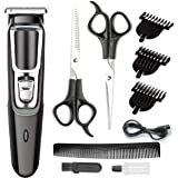 Hair Clippers for Men Professional Cordless Clippers Haircut Hair Trimmer Kit Rechargeable Head Shaver for Kids and Adult Bea