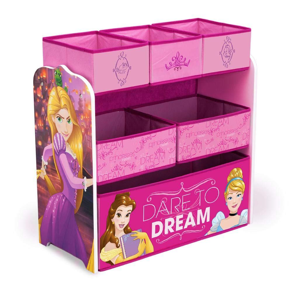 Delta Children Multi-Bin Disney Princess Toy Organizer by Delta Children
