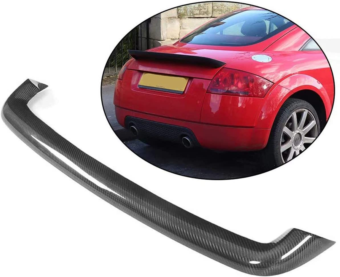 Xtt Fits For Audi Tt Mk1 Type 8n Tt 2d 1998 2006 Carbon Fiber Cf Rear Trunk Roof Spoiler Tail Wing Home Kitchen