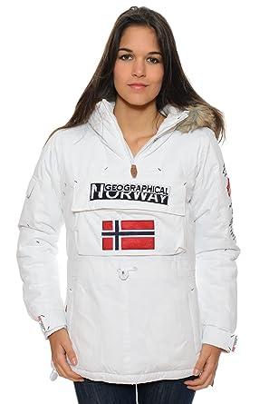disfrute del envío de cortesía gran selección precio favorable Geographical Norway - Parka acolchada para mujer, color ...
