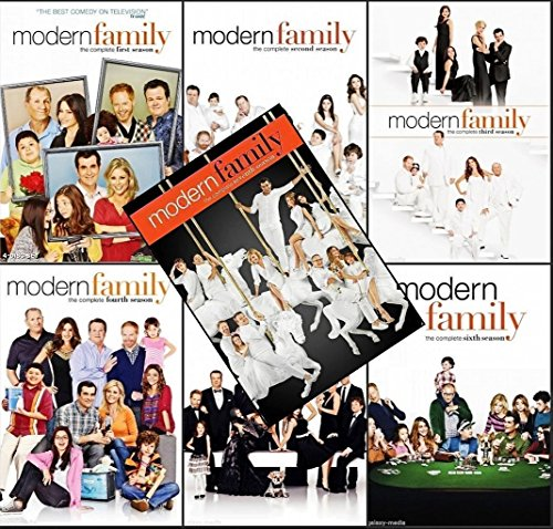 Modern Family Season 1-7 Bundle (Modern Family Season 3 Dvd)