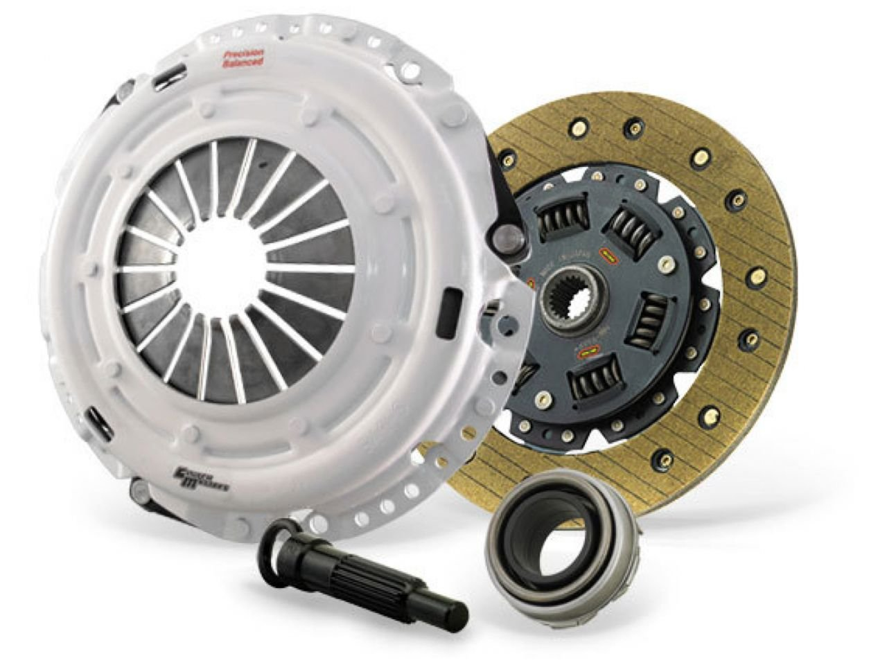 Full-Face Kevlar Lined Disc Clutch Masters 05055-HDKV-D single Disc Clutch Kit with Heavy Duty Pressure Plate and Dampened Disc