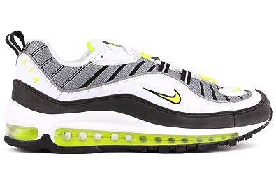 Nike Air Max 98 Mens Running Shoes 640744 002 White Black