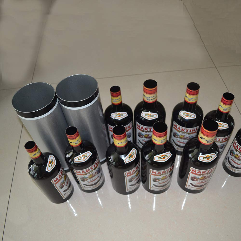 Enjoyer Multiplying Bottles/Moving Increasing Black Bottles Magic Tricks Props Stage Magician Illusion (10 Bottles,Poured Liquid) by Enjoyer (Image #8)