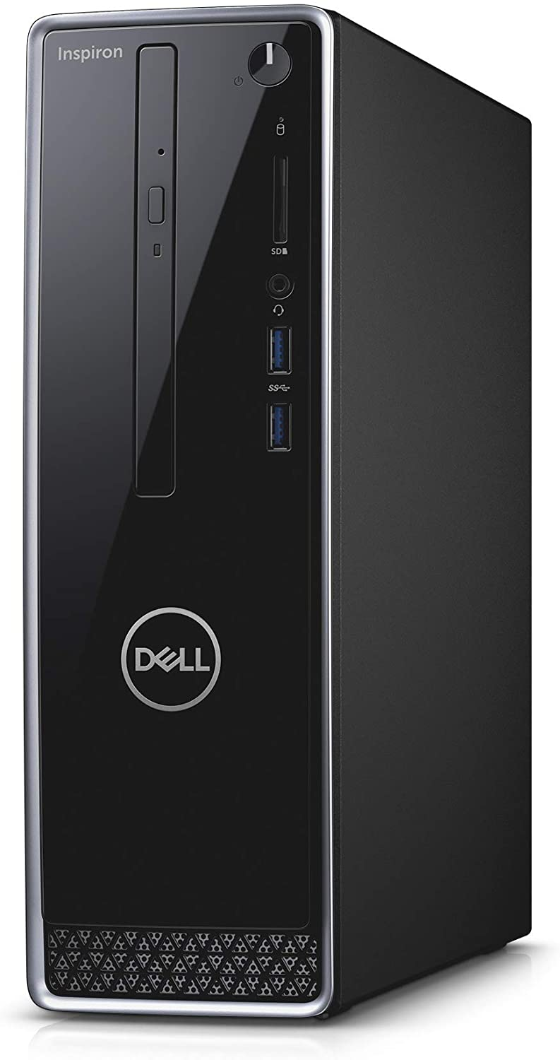 Dell Inspiron Small Desktop 3471, 9th Gen Intel Core i3, Intel UHD Graphics 630, 256GB SSD + 1 TB SATA HD, 8GB RAM, Inspiron Desktop 3471
