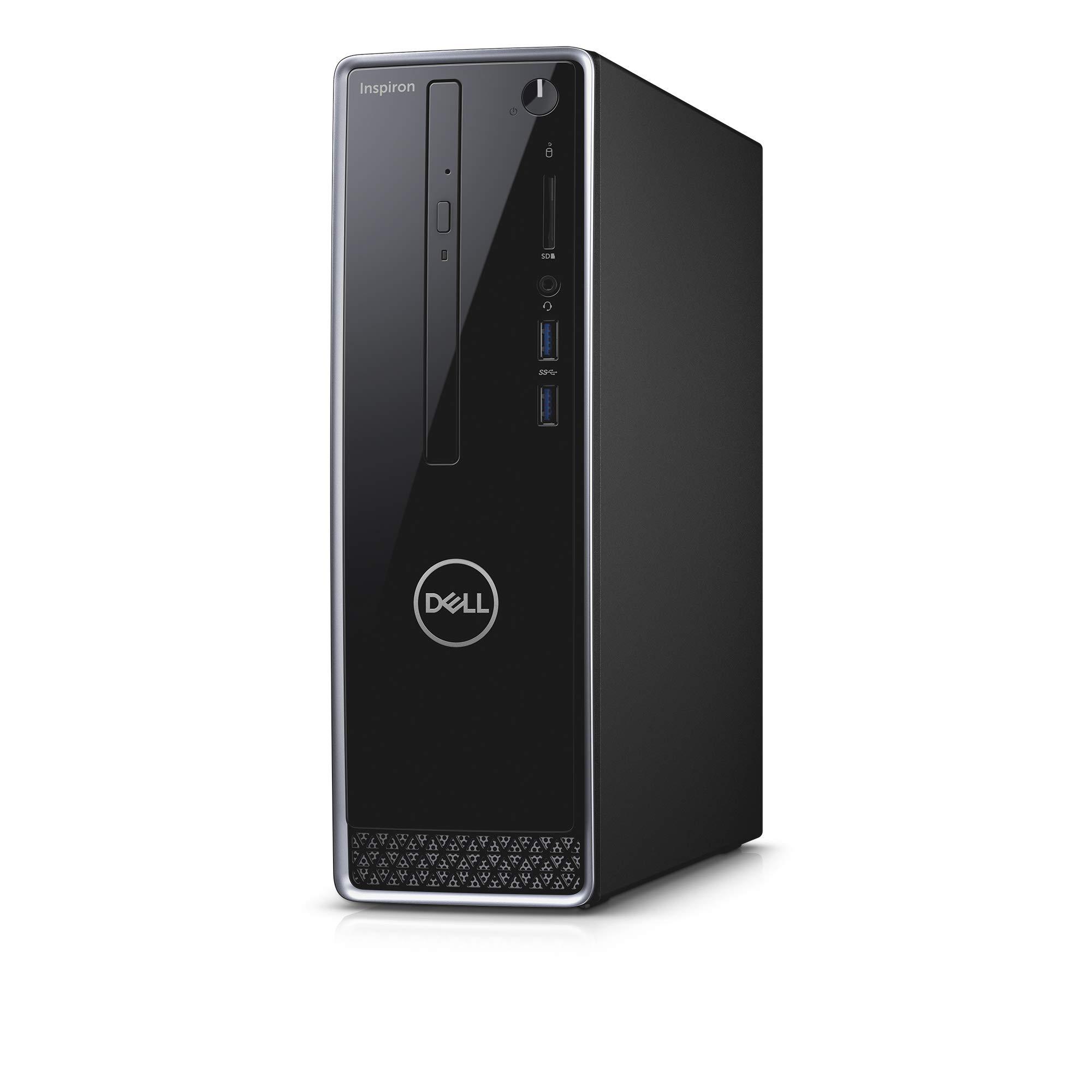 Dell Inspiron 3470 Desktop, 2 Year Onsite Warranty, Windows 10 Pro, 9th Gen Intel Core i5-9400 6-Core 4.1GHz Proc w/Intel Turbo Boost Technology, 12GB DDR4 2666MHz RAM, 1TB HDD+128Gb SATA SSD, DVD RW by Dell