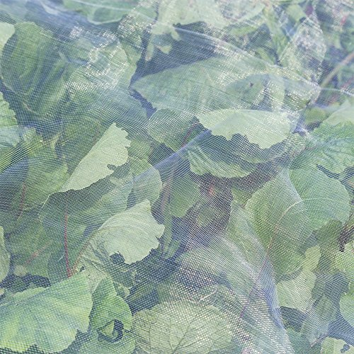 Agfabric Standard Insect Screen & Garden Netting against Bugs, Birds & Squirrels - 10'x30' of Mesh Netting, White by Agfabric (Image #4)