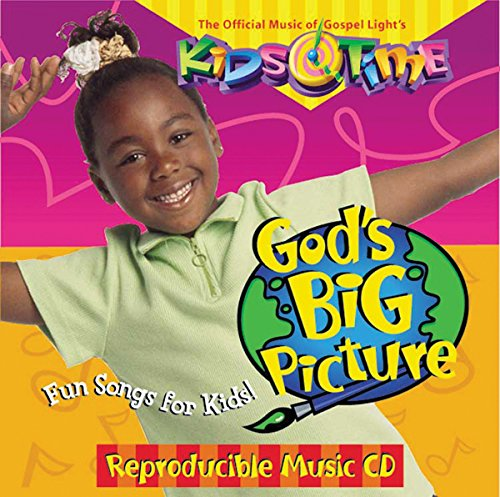 David C Cook Gospel Light KidsTime: God's Big Picture Music CD-Full Year from David C Cook