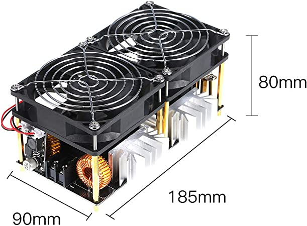 DIY 1800W High Frequency Tesla Coil 40A Low Voltage Flyback Driver Heater Riuty ZVS Induction Heating Board Module