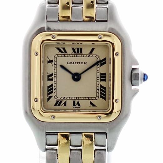 Cartier Reloj Panthere De Quartz 1100 para Mujeres: Cartier: Amazon.es: Relojes