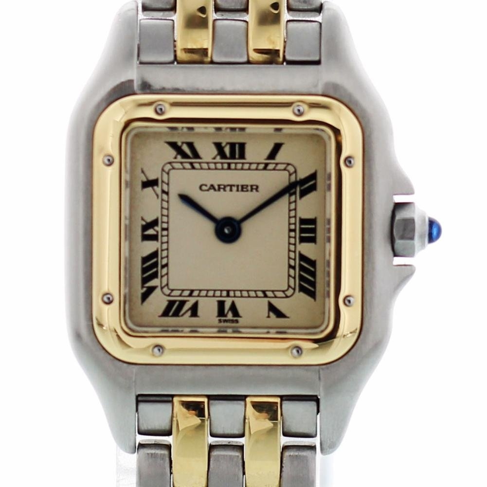 Cartier Panthere de Cartier quartz womens Watch 1100 (Certified Pre-owned)