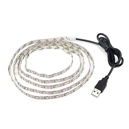 Amazon Com Tiowea Usb Led Lights Strip Led String Lights Led