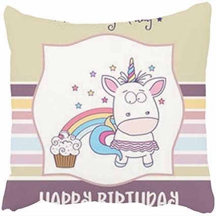 amazon com sneeepee custom decorative throw pillows covers happy