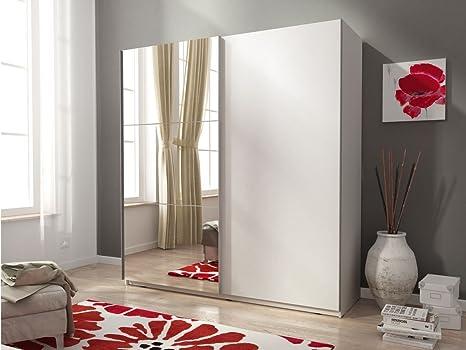 Mia 2 porta scorrevole 2 ante a specchio matt modern design 150 cm 1