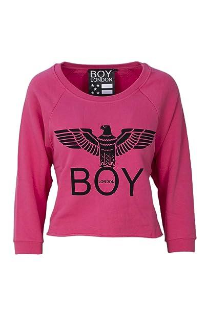 Boy London Mujer Bld1508fuchsia Fucsia Algodon Sudadera
