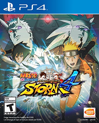 Naruto Shippuden: Ultimate Ninja Storm 4 - PlayStation 4 (Naruto Video Games Ps3)