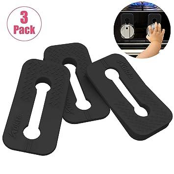 Paquete de 3 perillas de seguridad para horno, cocina o gas, para ...