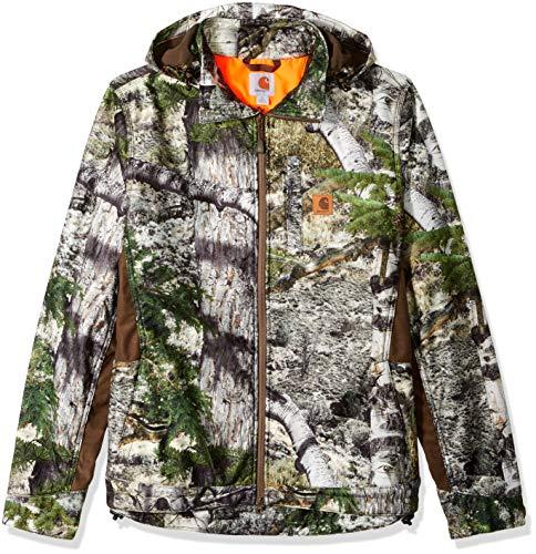 Soft Carhartt Jacket (Carhartt Men's Big & Tall Buckfield Jacket, Mossy Oak Mountain Country, Large)
