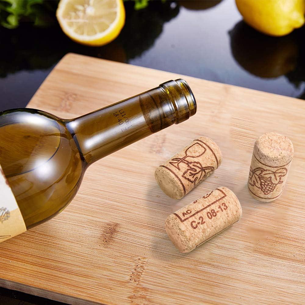 4,5 cm lang,/Ø 2,4 cm INHEMI 50 St/ück Weinkorken zum Basteln Bastelkorken Ideal zum Basteln und Dekorieren Naturkorken Kork