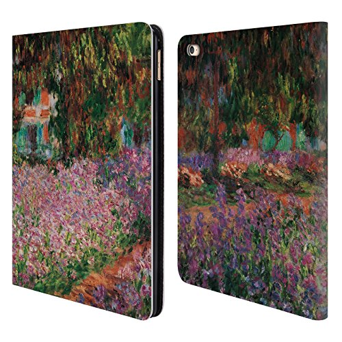 Official Masters Collection Le Jardin De L'Artiste Paintings 1 Leather Book Wallet Case Cover for iPad Air 2 (2014)