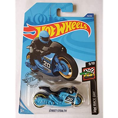Hot Wheels 2020 Hw Race Day Street Stealth, Blue 78/250: Toys & Games