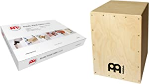 Meinl Make Your Own Cajon Kit with Snares - MADE IN EUROPE - Baltic Birch Wood, Includes Easy to Follow Manual (MYO-CAJ)