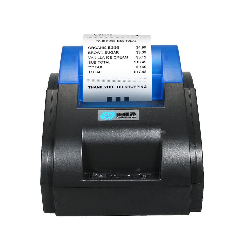 docooler USB alta Qualità StampanteRicevuta Stampante TermicoStampante Per ShoppingCentri Commerciali Supermercati Porta via Consegna 58mm