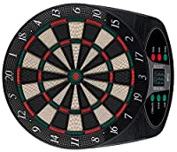 Solex Dartboard Electronic classic 8 Player 6 Soft Darts 24 Tips, mehrfarbig,...
