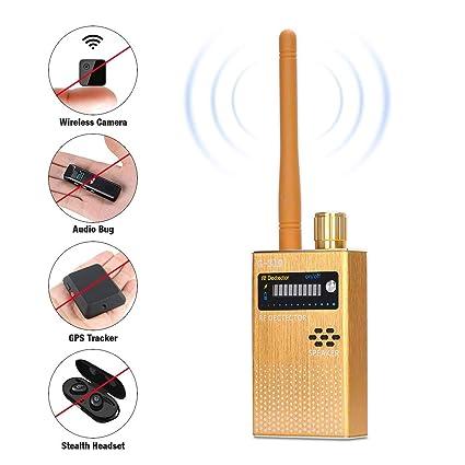 COVVY RF Signal Detector, Wireless Anti Spy Bug Detector GPS Radar Radio Scanner GSM Signal