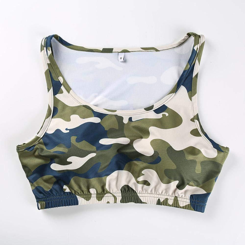 Kai&Guo Sexcer Camouflage Druck Fitness Frauen Yoga BHS Workout Top Stoßfest Sport Frauen BH Sammeln Laufbekleidung Für Frauen