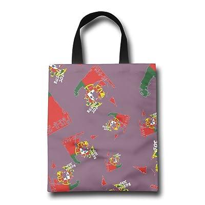 FTF BAG Portugal See You 2018 Soccer Women Reusable Shopping Bag Casual Portable Shopping Bag