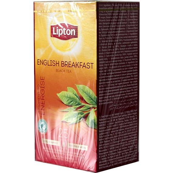 Lipton - Bolsas de Té Individual English Breakfast 6 Cajas ...