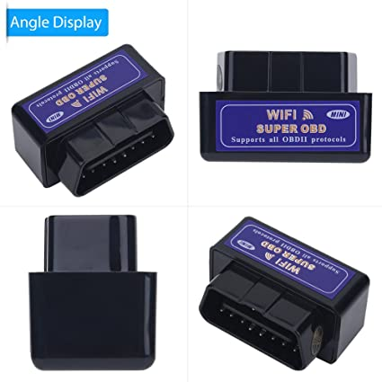 ELM327 V1.5 OBD2 Car WIFI Interface Diagnostic Tool Scanner For Android//IOS