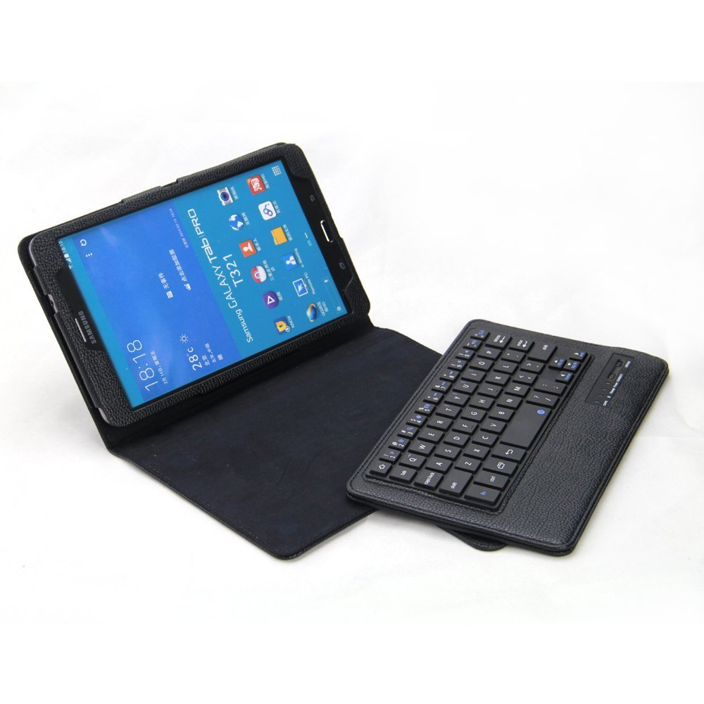 tpcromeer samsung galaxy tab pro 8 4 case with keybo