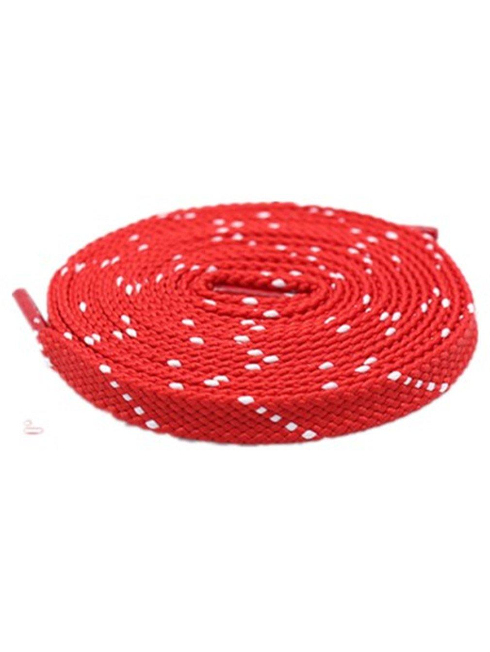 Antidérapants Boowhol 1 Paire de Lacets Plats Lacets de Chaussure de Sports Baskets Unisexe pour Enfants Adultes Enfants