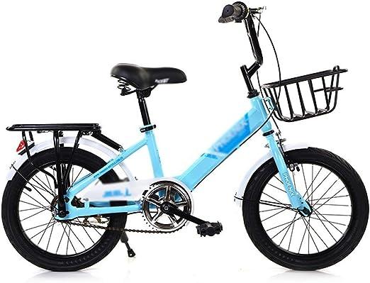 ZMDZA Bicicletas for niños, Bicicletas niños niñas 16 18 Pulgadas ...