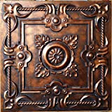 Tin Ceiling tiles faux finishes Archaic copper PL29 pack of 10pcs