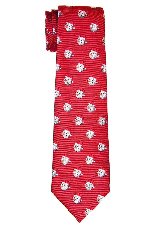 0507517b7 Retreez Navidad feliz muñeco de nieve tejido microfibra corbata de niño – 8  – 10 años