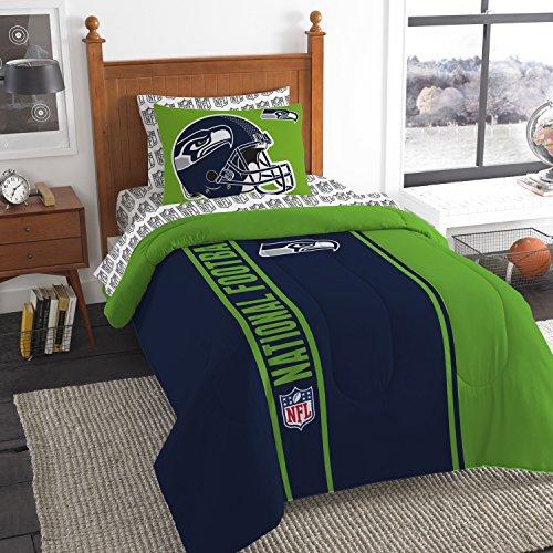 The Northwest Company Northwest Seahawks Soft & Cozy Twin Comforter Set