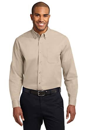 c8c2d2473 Port Authority Men s Long Sleeve Easy Care Shirt at Amazon Men s ...