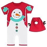 A&J DESIGN Toddler Baby Boys' Xmas Snowman Costume