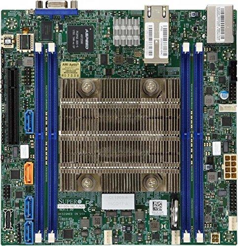(Supermicro MBD-X11SDV-4C-TLN2F-O X11SDV-4C-TLN2F - Motherboard - mini ITX - Intel Xeon D-2123IT - USB 3.0-2 x 10 Gigabit LAN - onboard graphics)