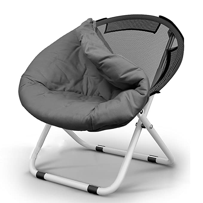 Amazon.com : Folding Chairs Recliner Lounger Leisure Round ...