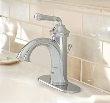 Grohe Gloucester Chrome 1 Handle Single Hole 4 In Centerset Watersense Bathroom Sink Faucet With Drain Amazon Co Uk Diy Tools