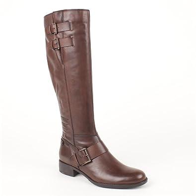 04ba87549ca422 Ladies Jones Bootmaker Petrona-S Brown Knee Length Boots Size 9 ...