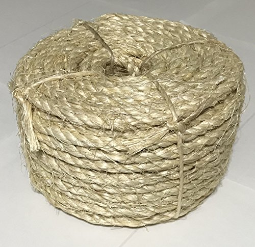 1/4'' x 100' Sisal Rope by Rushazzled