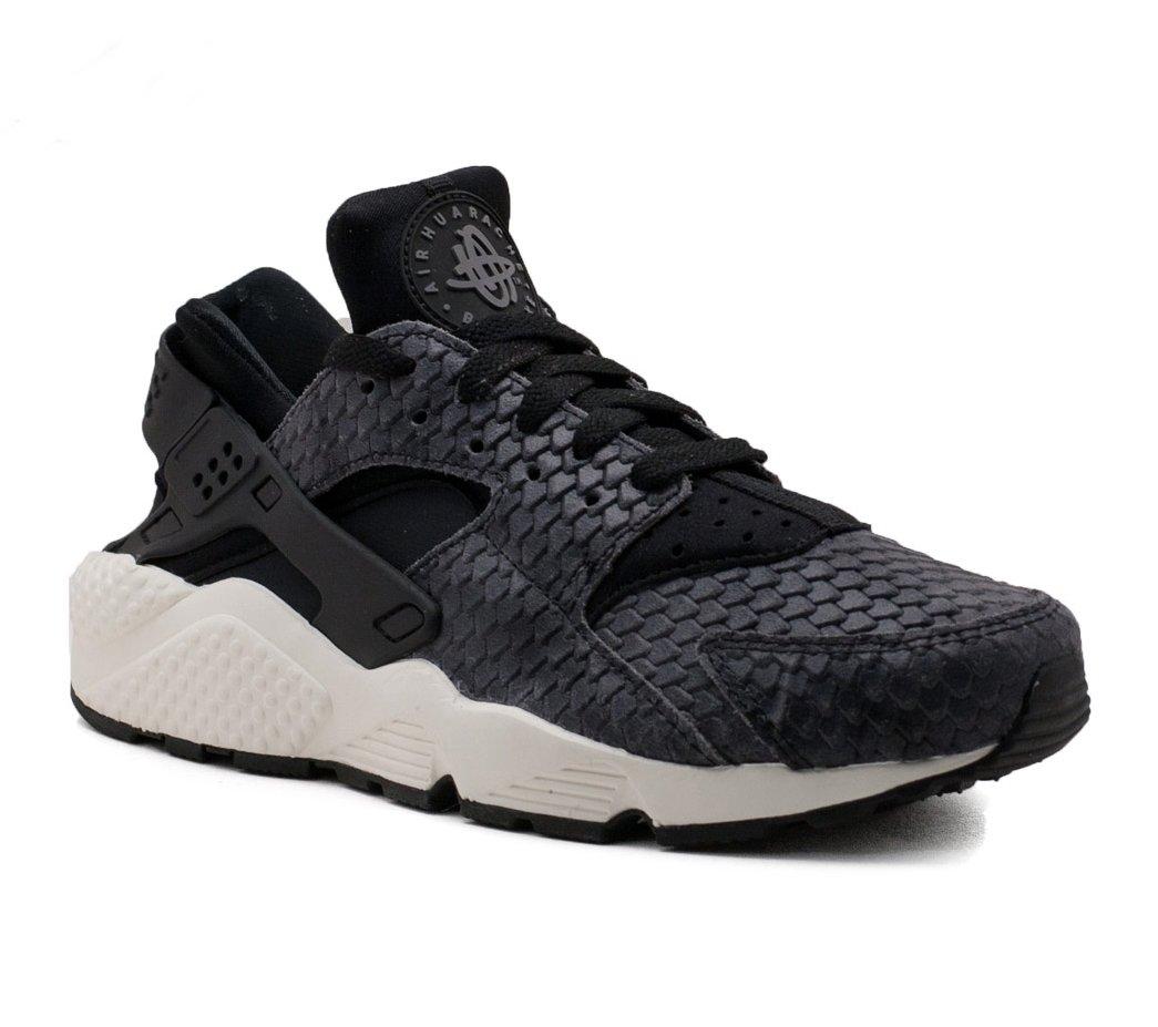 wholesale dealer 9b332 a4c80 Galleon - NIKE WMNS Air Huarache Run Premium Lifestyle Fashion Sneakers  Women Black Black-Sail-Dark Grey 683818-013 - 7